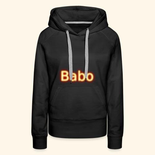Babo - Frauen Premium Hoodie
