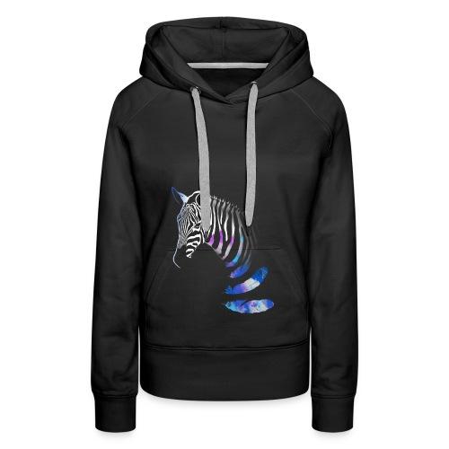 Vibrant Zebra - Women's Premium Hoodie