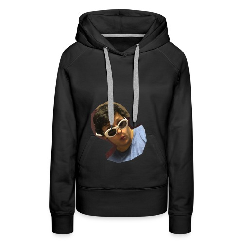 Handsome Person on Clothing - Frauen Premium Hoodie