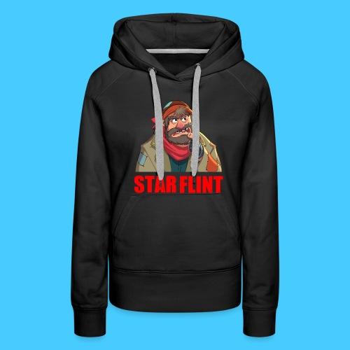 Roi des clochards - Sweat-shirt à capuche Premium pour femmes