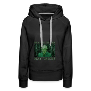 Beware of the May Tricks - Women's Premium Hoodie