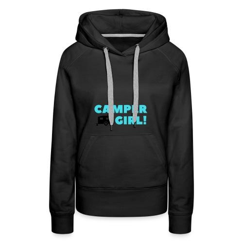 CAMPER Girl - Frauen Premium Hoodie