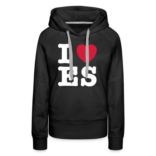 We Love ES - Frauen Premium Hoodie