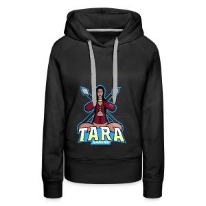 Tara Gaming - Sudadera con capucha premium para mujer