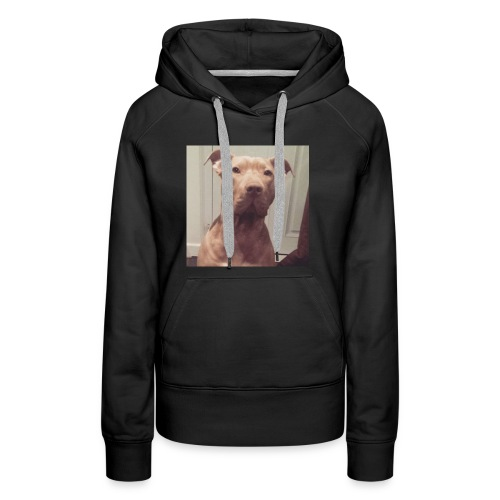 Hank with no collar ❤️ - Women's Premium Hoodie