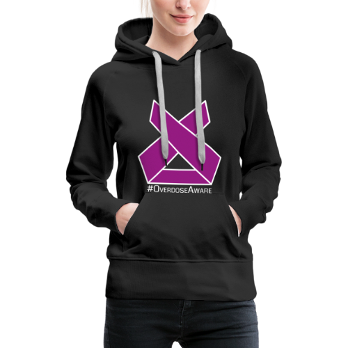 Drug Overdose Awareness Day Drogen Achtsamkeit - Frauen Premium Hoodie