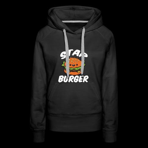 Star Burger Brand - Vrouwen Premium hoodie