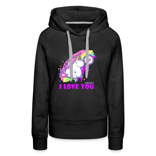 unicorn_love - Frauen Premium Hoodie