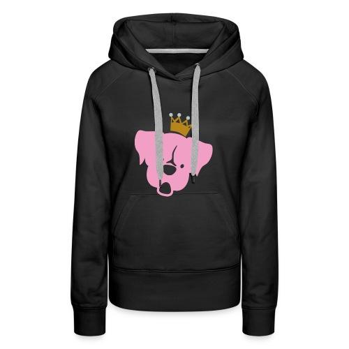 Prinz Poldi rosa - Frauen Premium Hoodie
