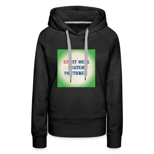 LPMIT_Meik_2 Schriftzug Bund - Frauen Premium Hoodie