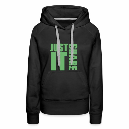 JUSTSHAREIT - Frauen Premium Hoodie