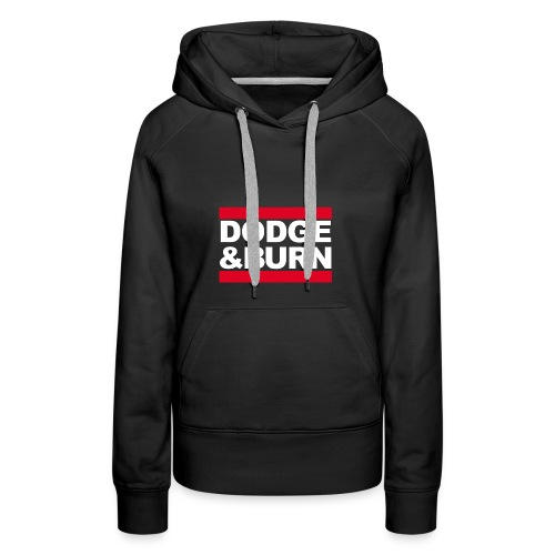Signatureshirt // dodge burn - Frauen Premium Hoodie