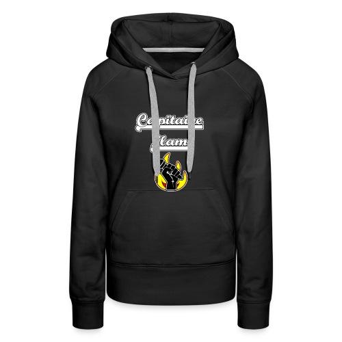 CAPITAINE SLAM - JEUX DE MOTS - FRANCOIS VILLE - Sweat-shirt à capuche Premium pour femmes