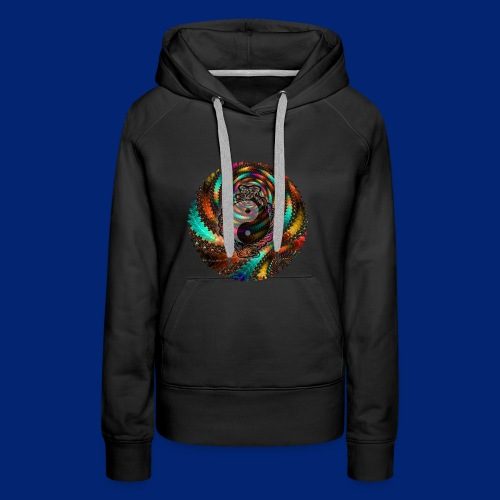 One More Fractal - Women's Premium Hoodie