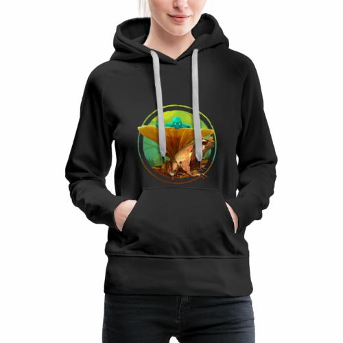 Fairy and Frog - Frauen Premium Hoodie