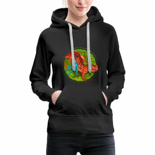 Fiersalamander with fairy - Frauen Premium Hoodie