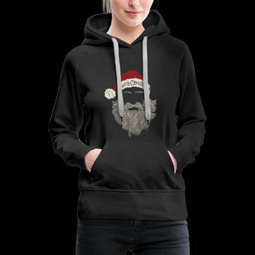 Christmas Santa - Frauen Premium Hoodie