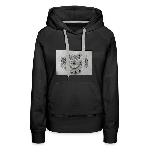 Skulls'N'Sphinx - Sweat-shirt à capuche Premium pour femmes