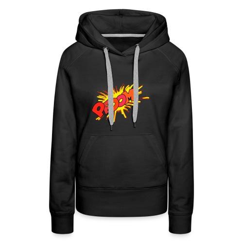 Explosion Bombe - Sweat-shirt à capuche Premium pour femmes