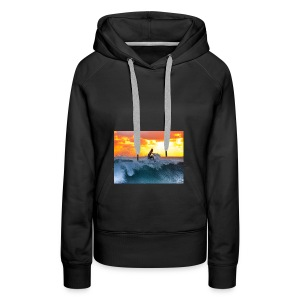 Surfer - Basic Kollektion - Frauen Premium Hoodie