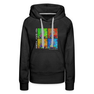 Animal Tube In Your Head Text Weiß - Frauen Premium Hoodie