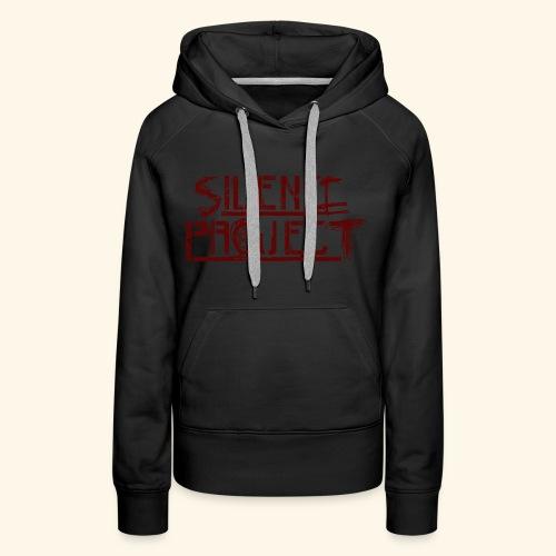 Silence Project - Sweat-shirt à capuche Premium pour femmes
