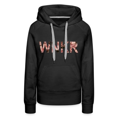 flowersWNKR - Vrouwen Premium hoodie