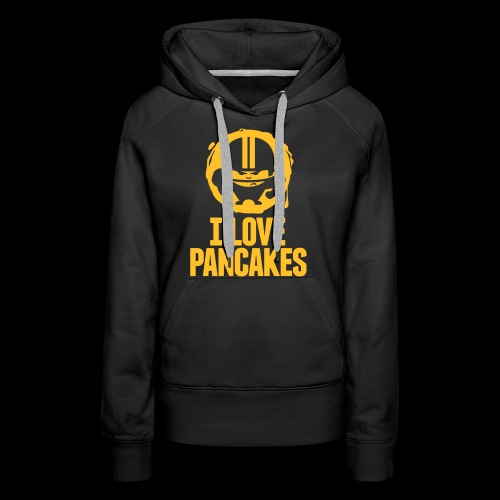 I LOVE PANCAKES - Frauen Premium Hoodie