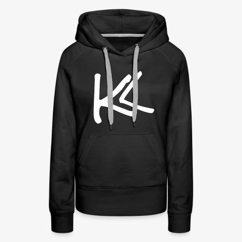 Kirbs Vlogs White Logo - Women's Premium Hoodie