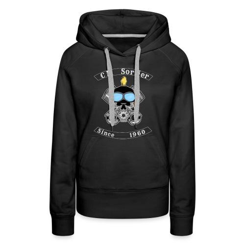 Club moto - Sweat-shirt à capuche Premium pour femmes
