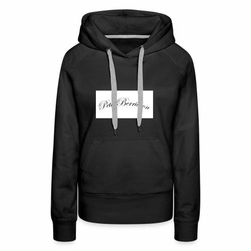 petit Berrichon - Sweat-shirt à capuche Premium pour femmes