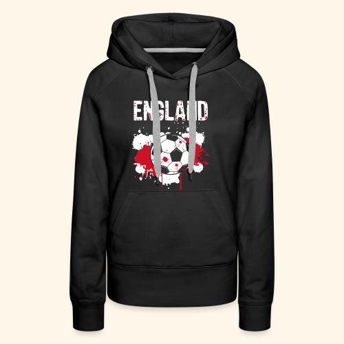 England Meister Fußball Fussball Shirt Geschenk - Frauen Premium Hoodie
