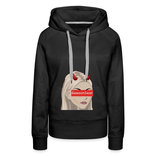 Gewoonsean Tshirt - Vrouwen Premium hoodie