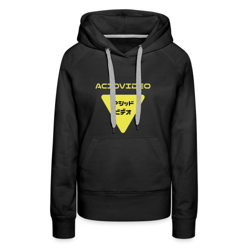 Acidvideo logo - Women's Premium Hoodie