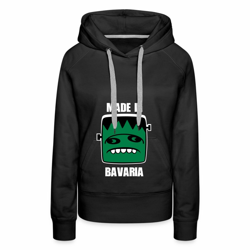 Fonster weiß made in Bavaria - Frauen Premium Hoodie
