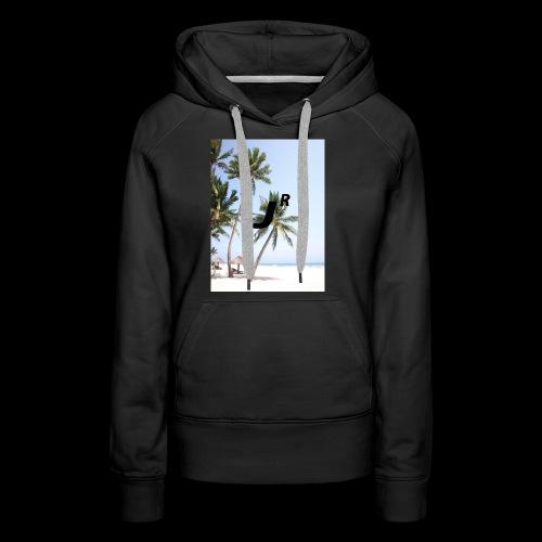 Palmtree-JR - Frauen Premium Hoodie