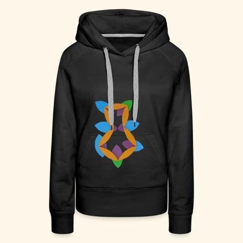 oranjeblanjebleu - Vrouwen Premium hoodie