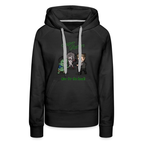 SuperAntlers Zombie Slayer - Women's Premium Hoodie