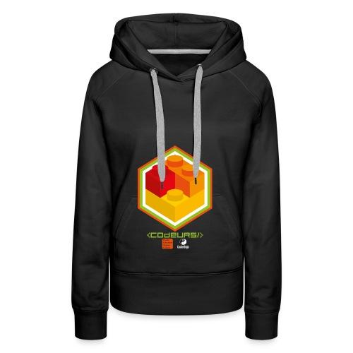 Esprit Club Brickodeurs - Sweat-shirt à capuche Premium pour femmes