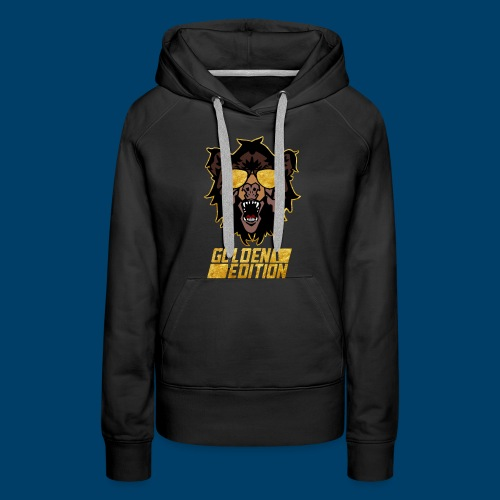 The Grizzly Beast: Golden Edition - Women's Premium Hoodie