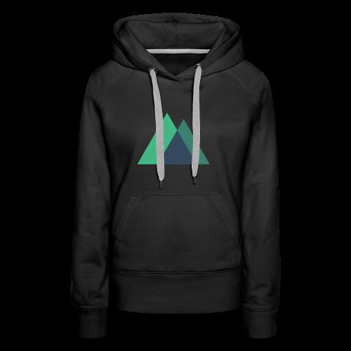 Mountain Logo - Women's Premium Hoodie