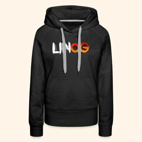 LinOG Logo - Premiumluvtröja dam