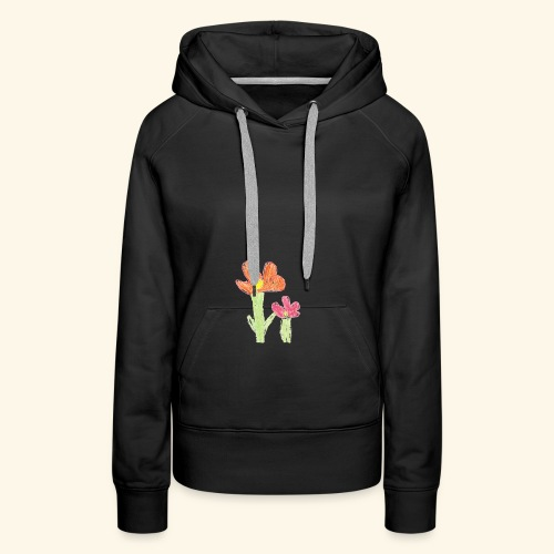 Blume - Frauen Premium Hoodie