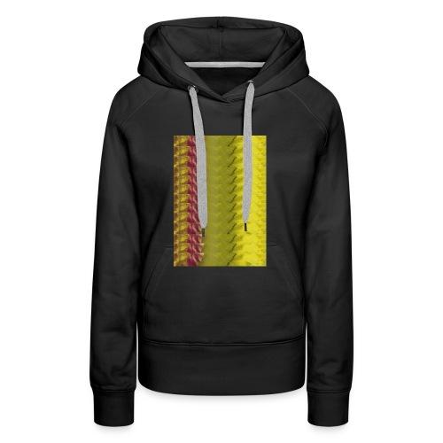 Motif chaire - Sweat-shirt à capuche Premium pour femmes