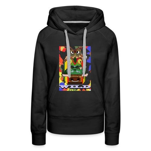 Totem Animal - Sweat-shirt à capuche Premium pour femmes