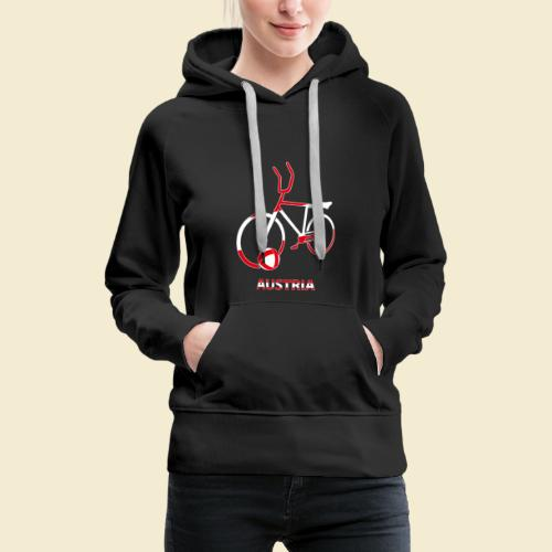 Radball | Austria Rad - Frauen Premium Hoodie