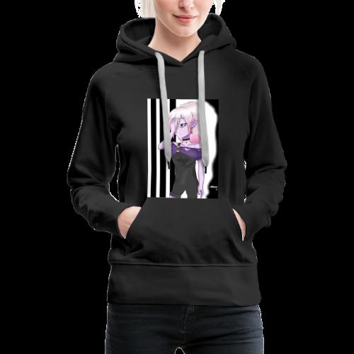 Monster Girl - Sudadera con capucha premium para mujer