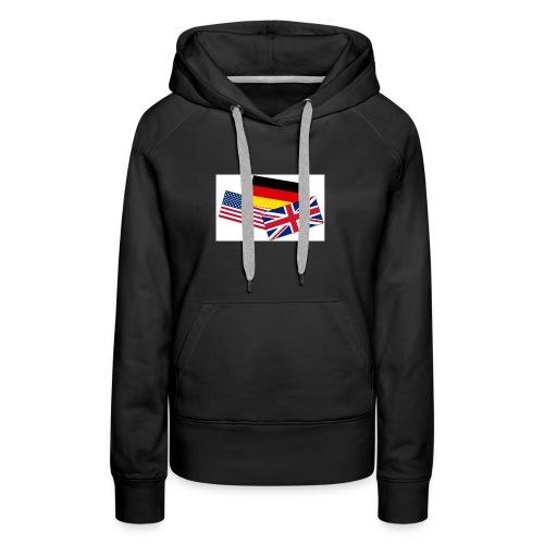 Englisch_Deutsch_Unterhaltung_Prod - Frauen Premium Hoodie