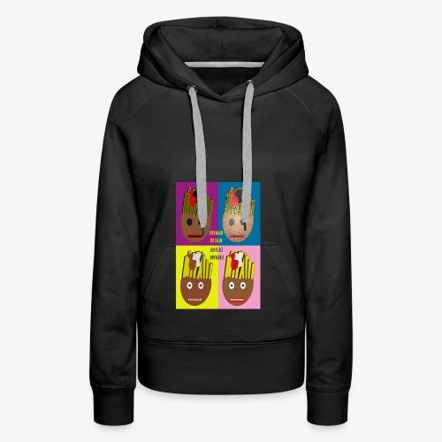 Fryhair Poparted - Frauen Premium Hoodie