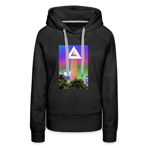 SIXTH DIEMENSION MONUMENT - Women's Premium Hoodie